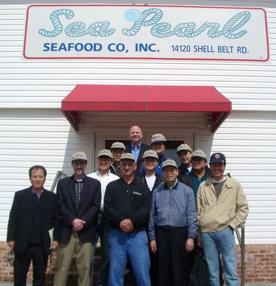 SUSTA bring Korean delegation of seafood buyers to Sea Pearl, Bayou LaBatre