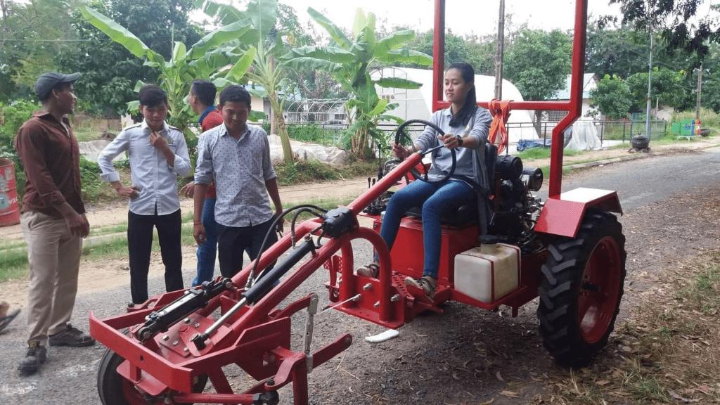 Oggun Tractor in Cambodia