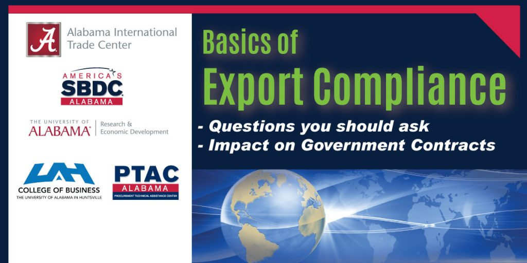 Basics of Export Compliance Webinar