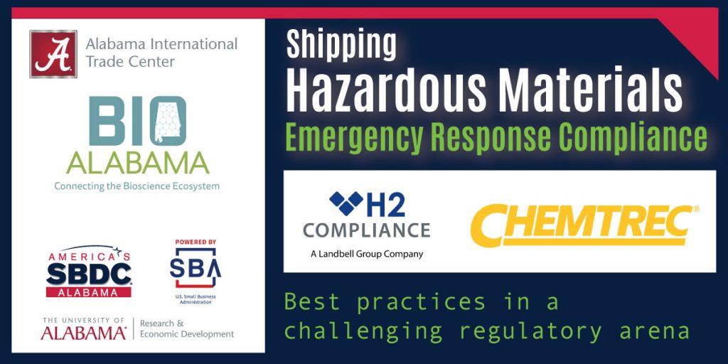 Shipping Hazardous Materials - Emergency response compliance